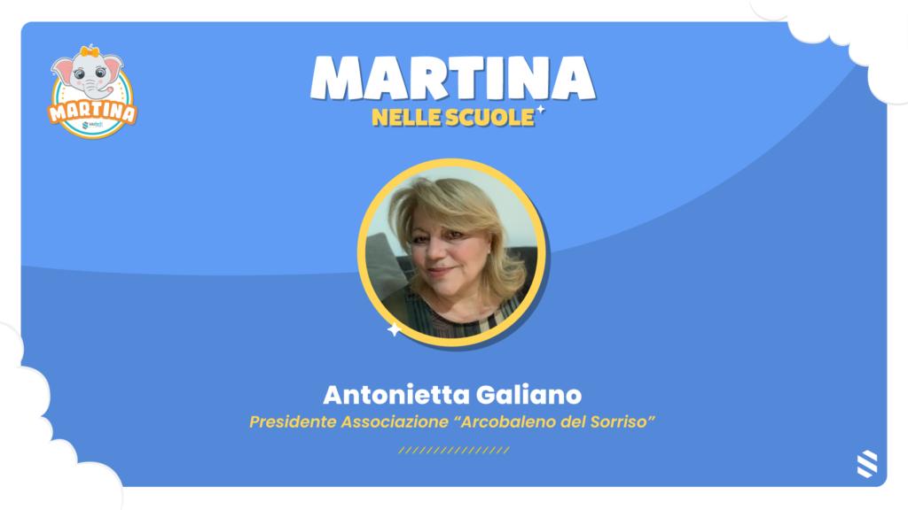 Intervista ad Antonietta Galiano